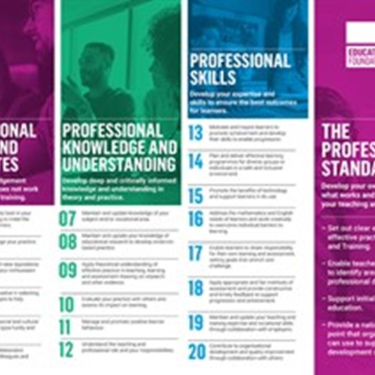Professional Standards Poster
