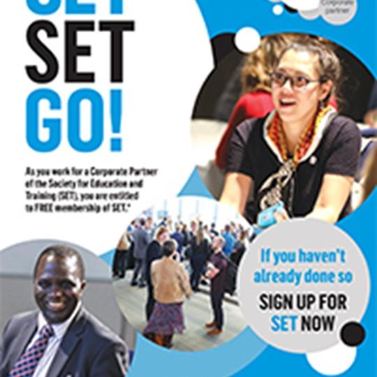 SET Corporate Partner Poster