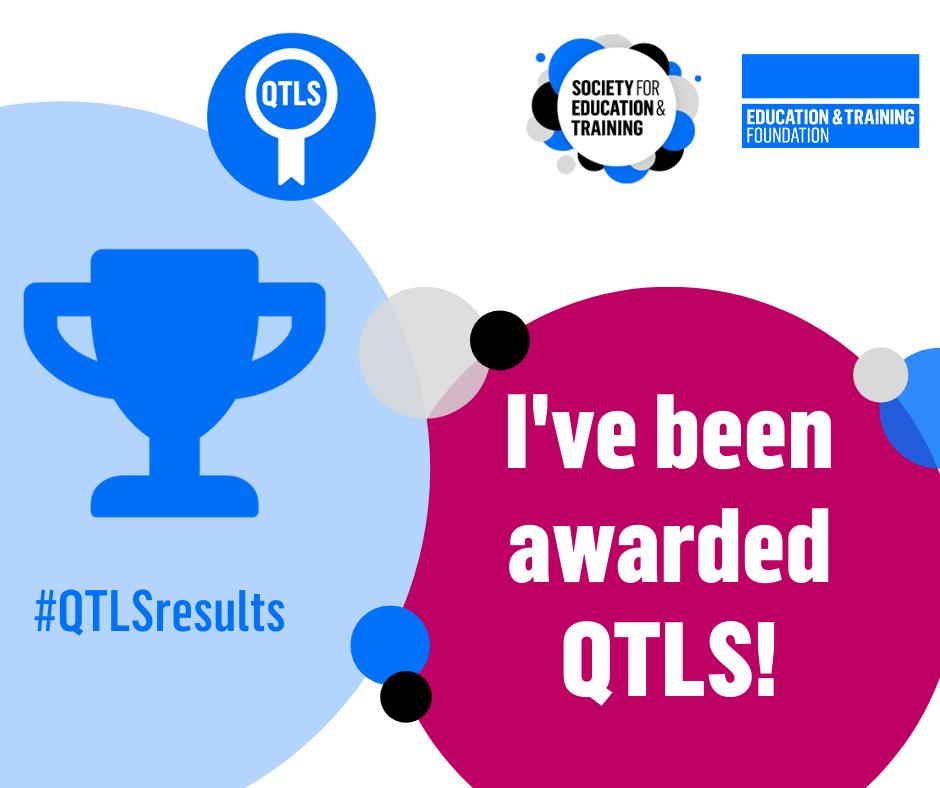 Awarded QTLS Facebook graphic