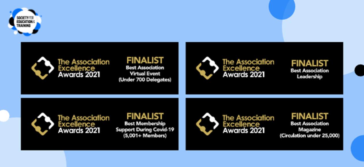 SET shortlisted for awards