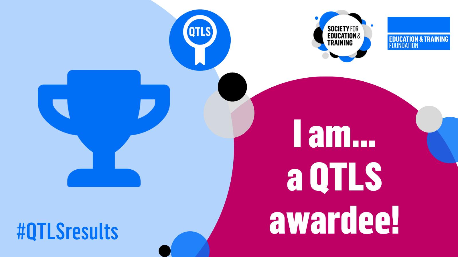 QTLS awardee Twitter graphic