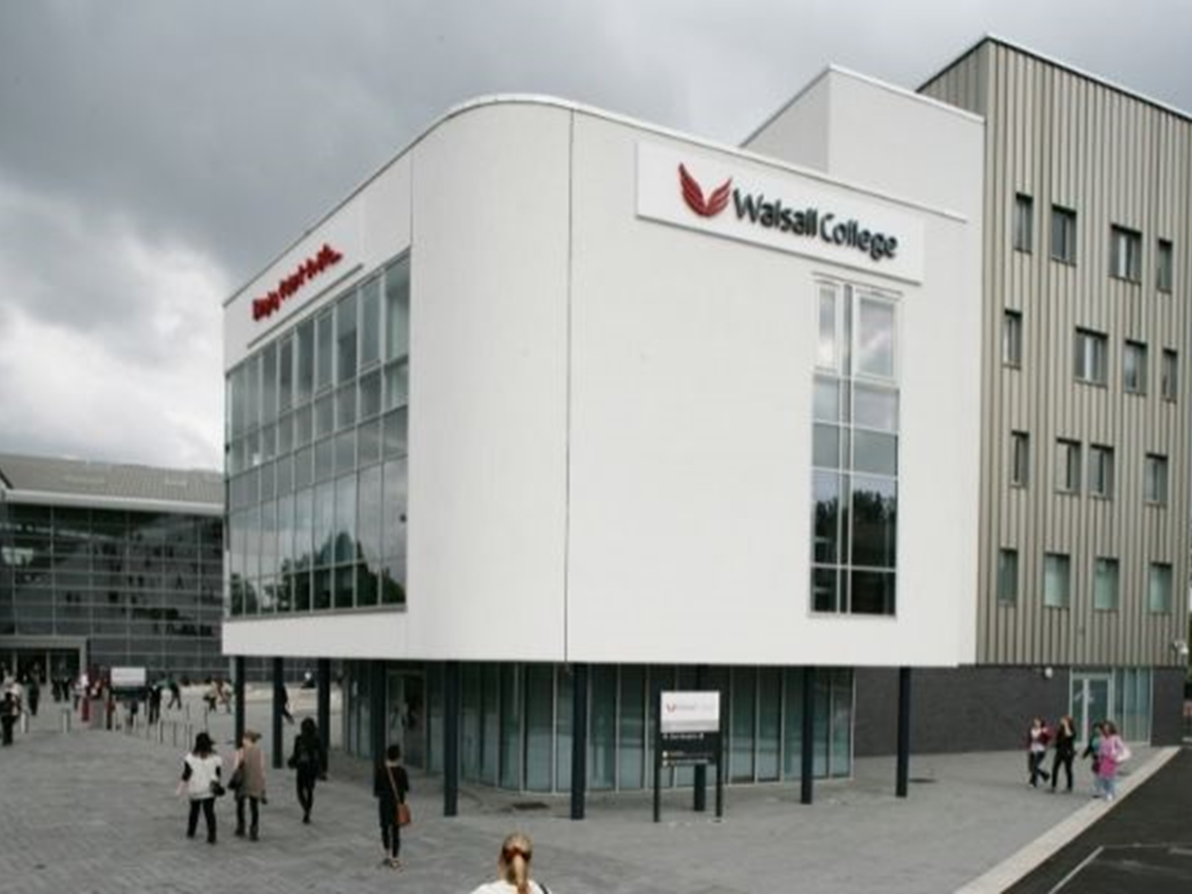 Walsall College building